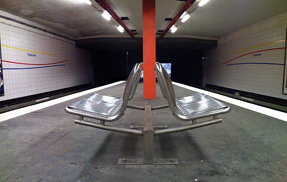 U-Bahn Station Feldstrasse