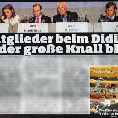 Die Hamburger Printausgabe der BILD Zeitung am 14. Juli 2009