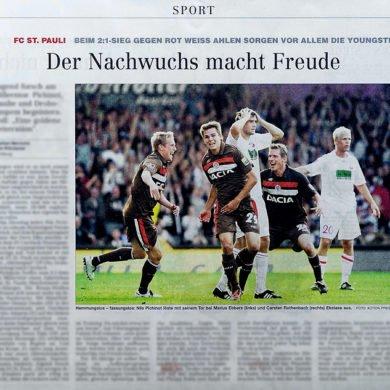 Meine erste Veröffentlichung im Hamburger Abendblatt