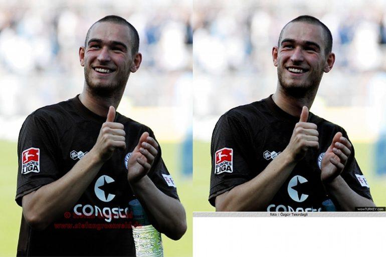 Ömer Sismanoglu - hier noch im Trikot vom FC St. Pauli