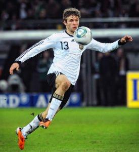 Thomas Müller im Trikot der deutschen Nationalmannschaft