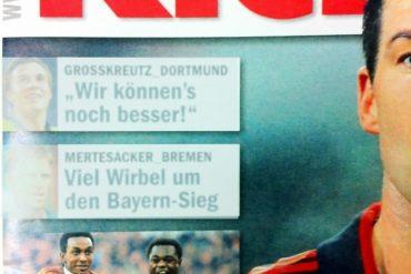 Titelblatt vom Kicker