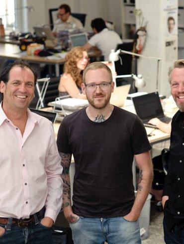 offizielles Pressefoto zur Kooperation zwischen beebop und Pixelpark