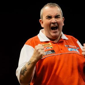 Phil - The Power - Taylor freut sich