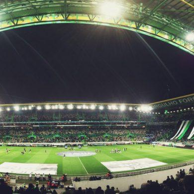 Stadion von Sporting Lissabon