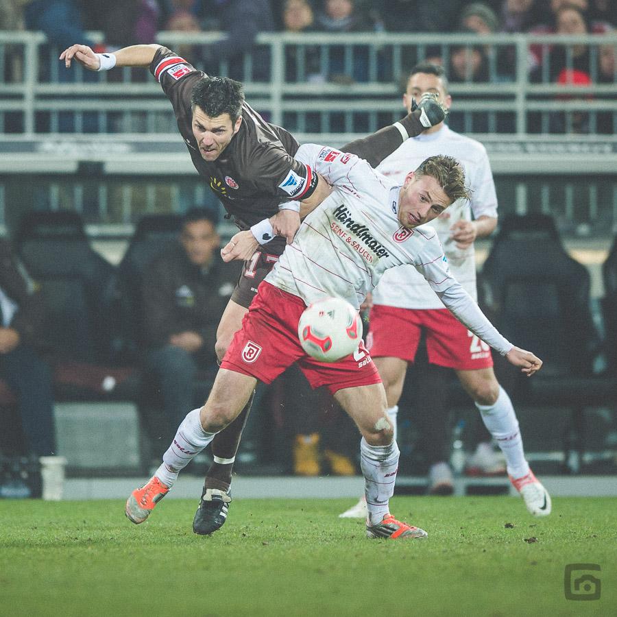 Julian Wiessmeier hat auch gegen Fabian Boll das Nachsehen