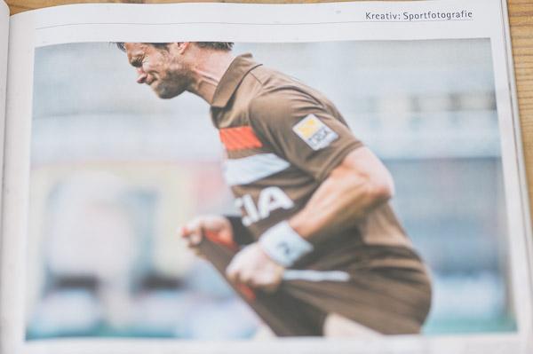 Florian Lechner im Dress vom FC St. Pauli