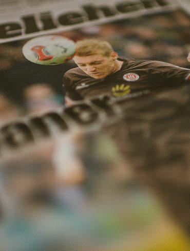 Die Bild-Zeitung am 24. Mai 2013 im Sportteil