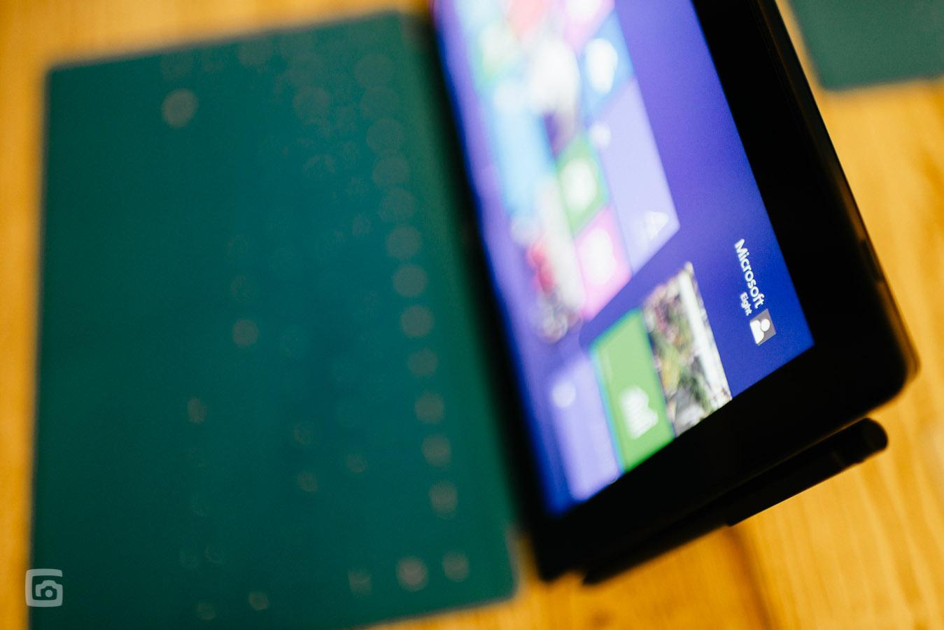 Die optionale Tastatur vom surface Pro gibt es in unterschiedlichen Farben