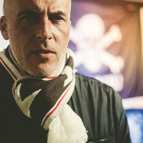 Trainer vom FC St. Pauli Michael Frontzeck