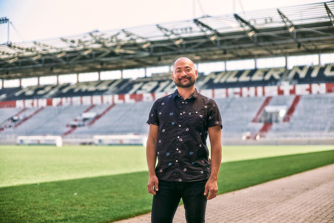 Jason Lee (Lead Teamsport Designer, hummel Deutschland)