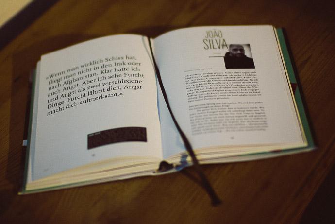 Buchseite aus BILDERKRIEGER