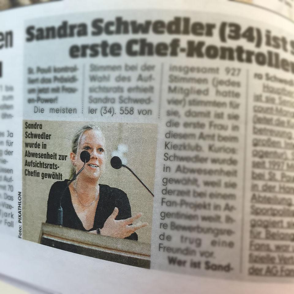 Mein Foto in der Printausgabe der Bild Hamburg
