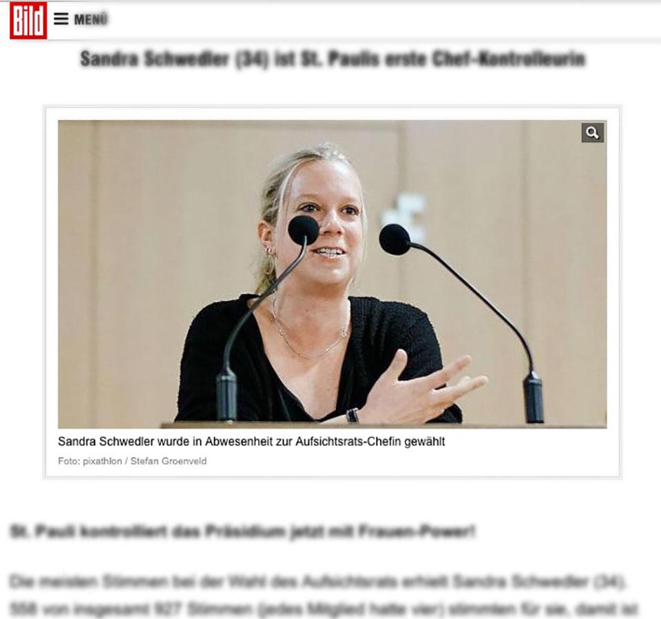 Mein Foto online bei bild.de