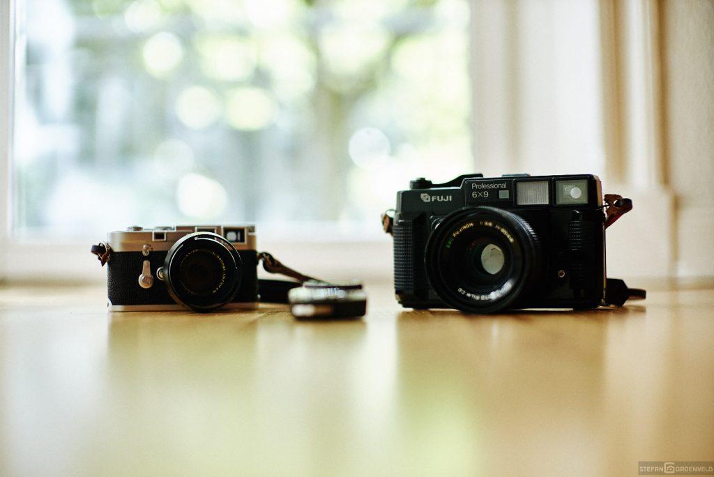 Links Leica M3, rechts Texasleica
