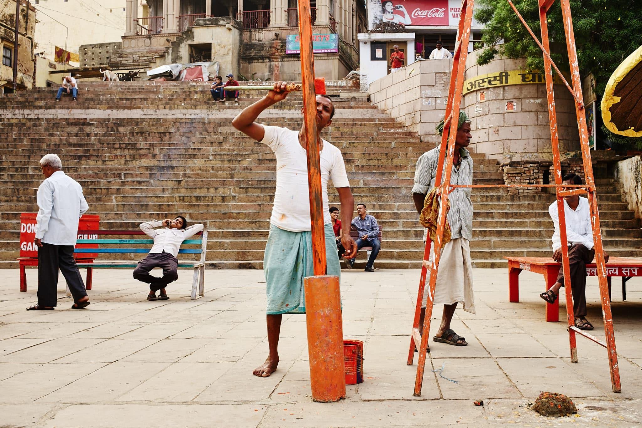 Multilayer shot taken in Varanasi