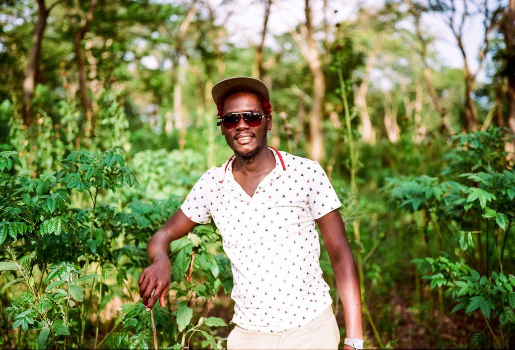 Ronald Ro Kerango - visual artist from Uganda
