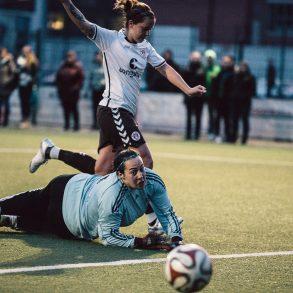 Nina Philipp mit dem 1:0