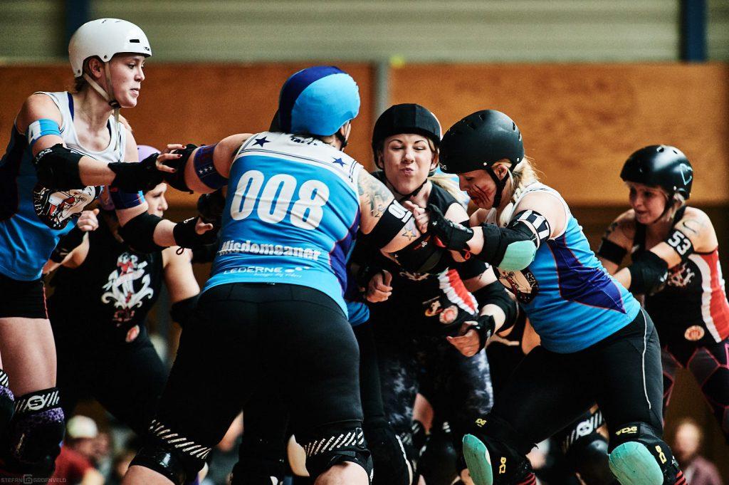 Harbor Girls B vs Aarhus Roller Girls