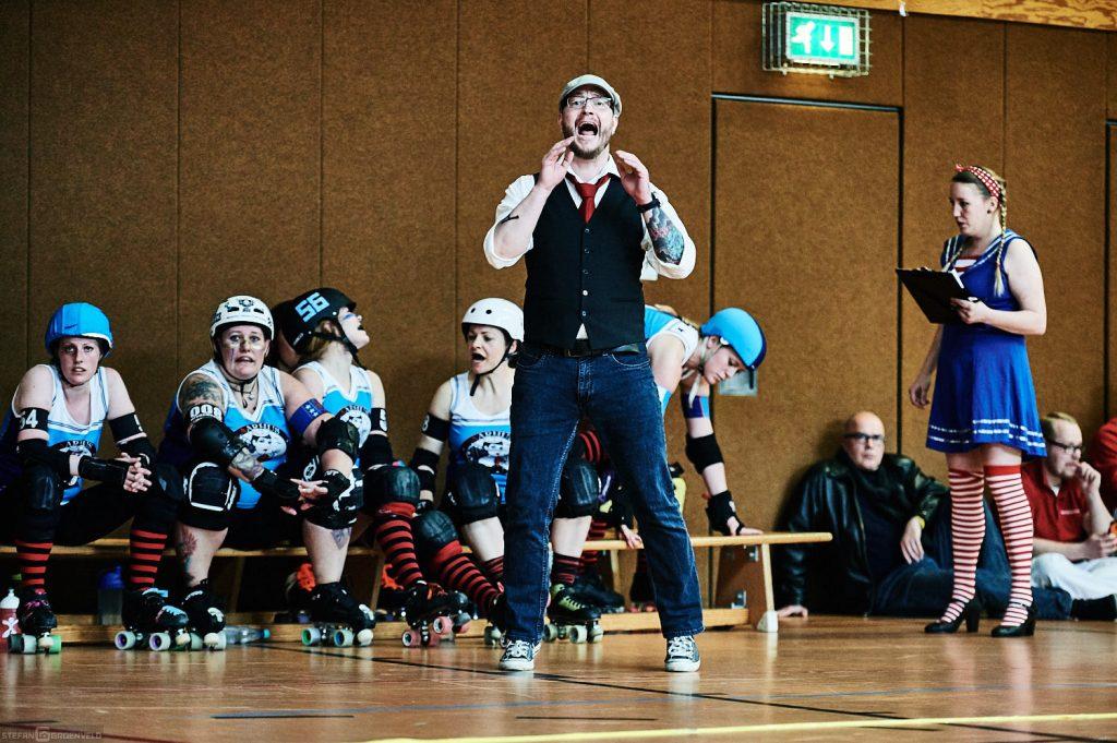 Trainer der Aarhus Roller Girls