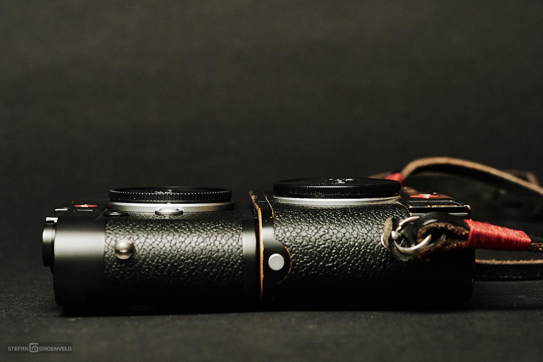 Die Leica M10 baut wirklich schmal