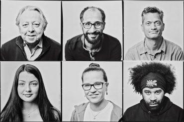 Wer von den sechs Abgebildeten hat keinen deutschen Pass?