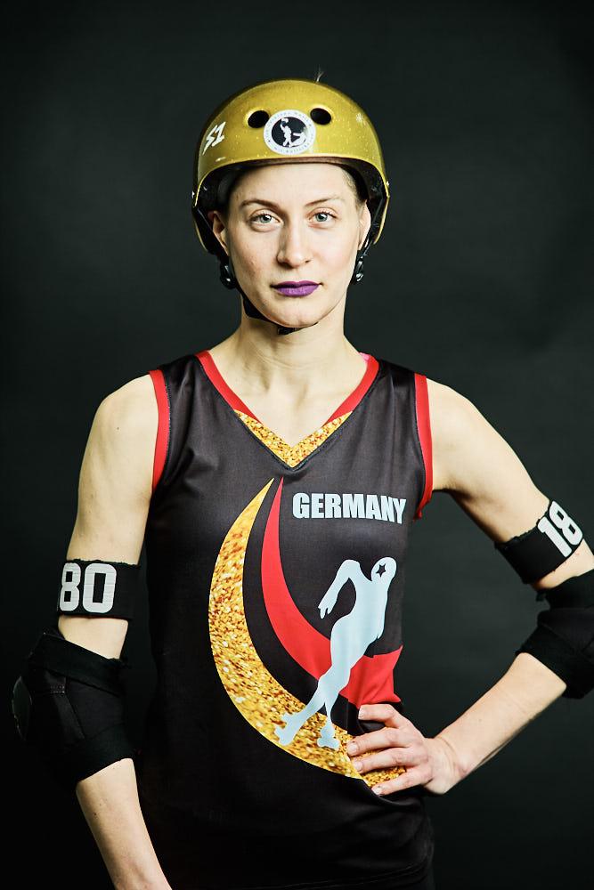 Miss Zoffi für Team Germany