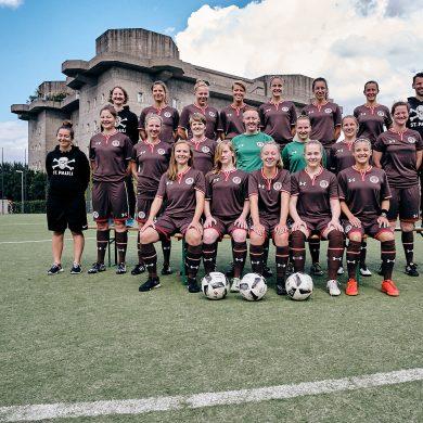 FC St. Pauli 1. Frauen Teamfoto 2017/18