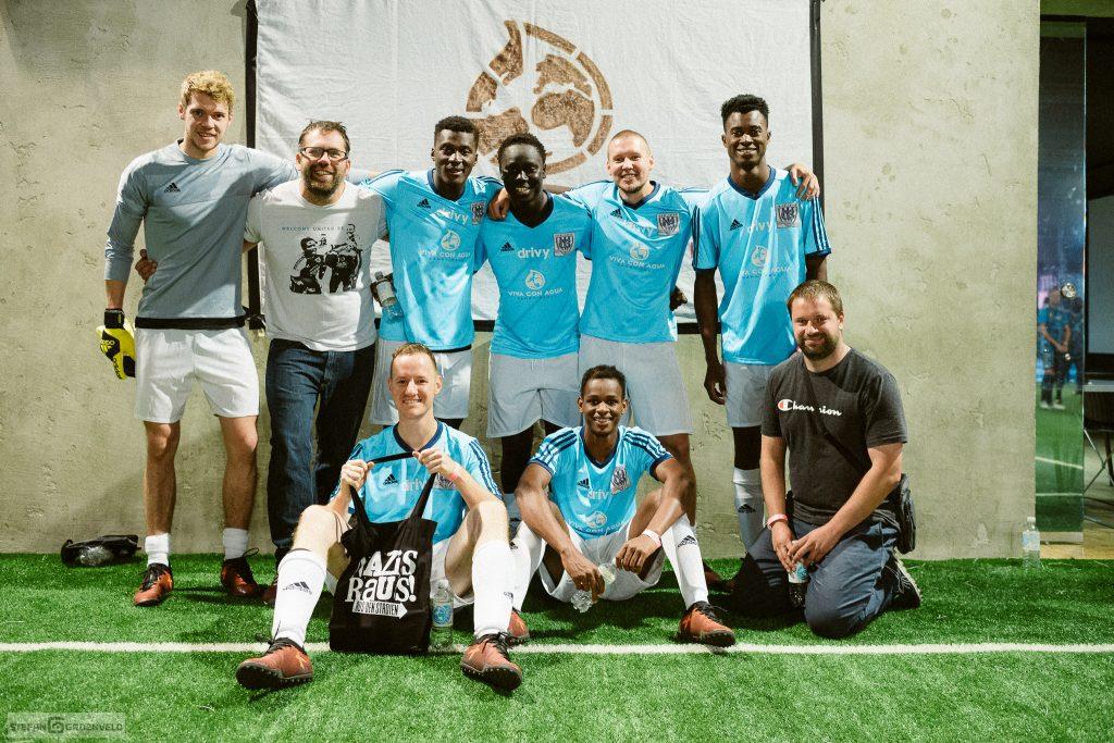 Welcome Team aus Babelsberg