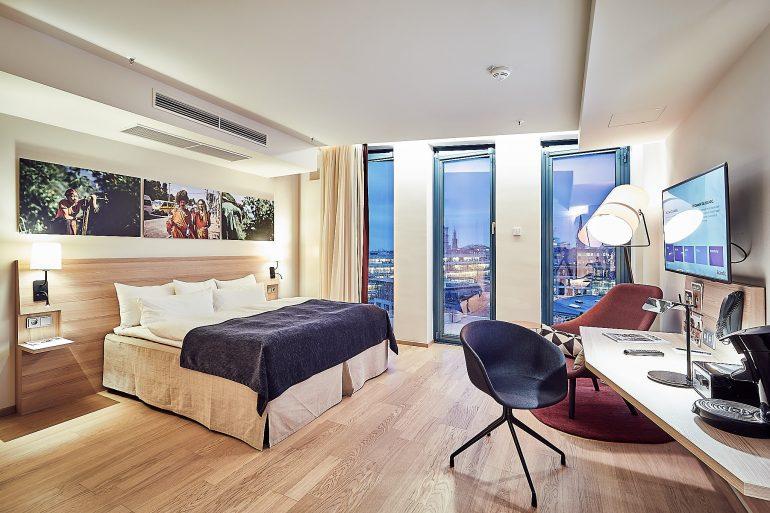 Hotelzimmerfotografie im Zimmer 802