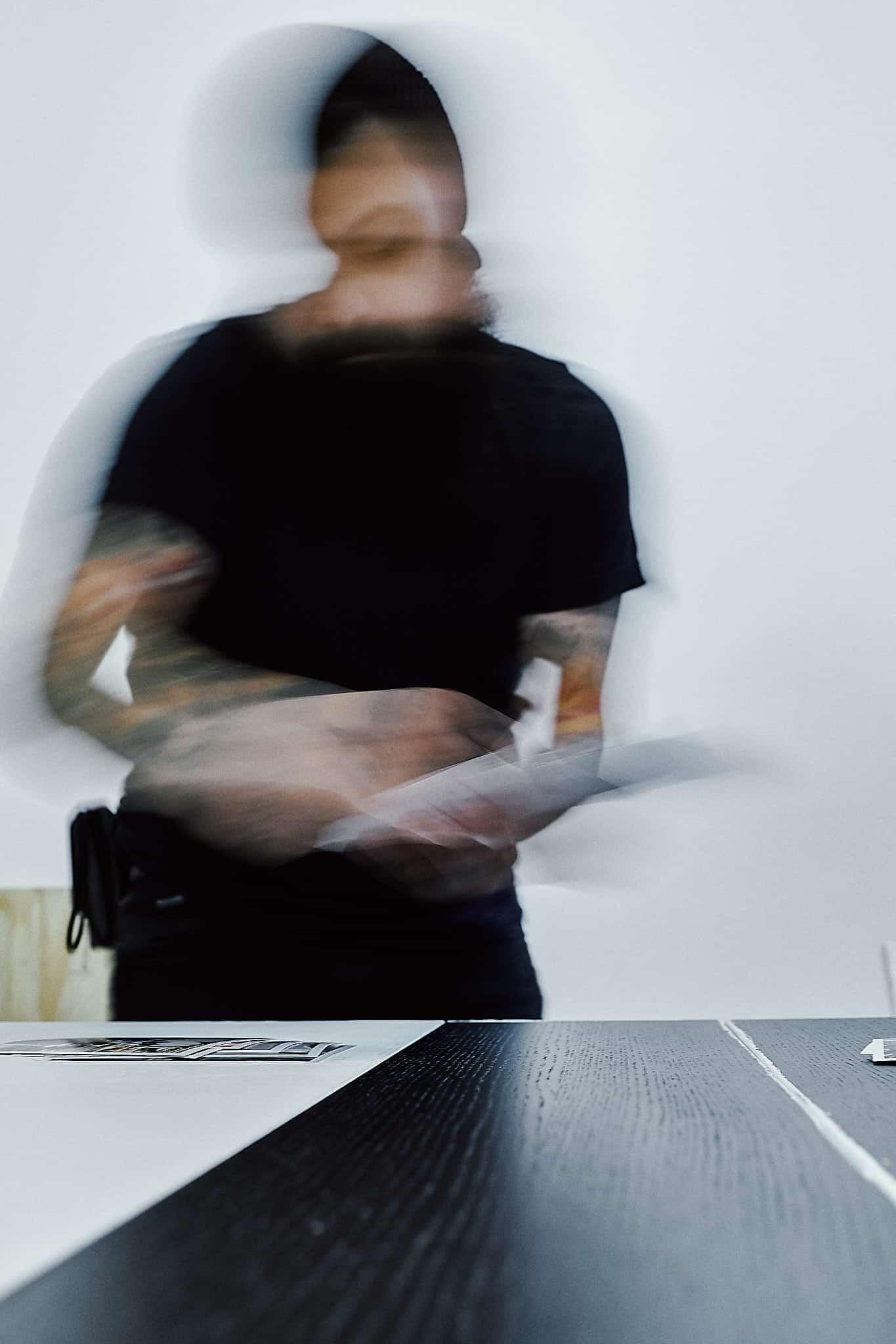 Visual Storytelling - Joe Aguirre sortiert Bilder