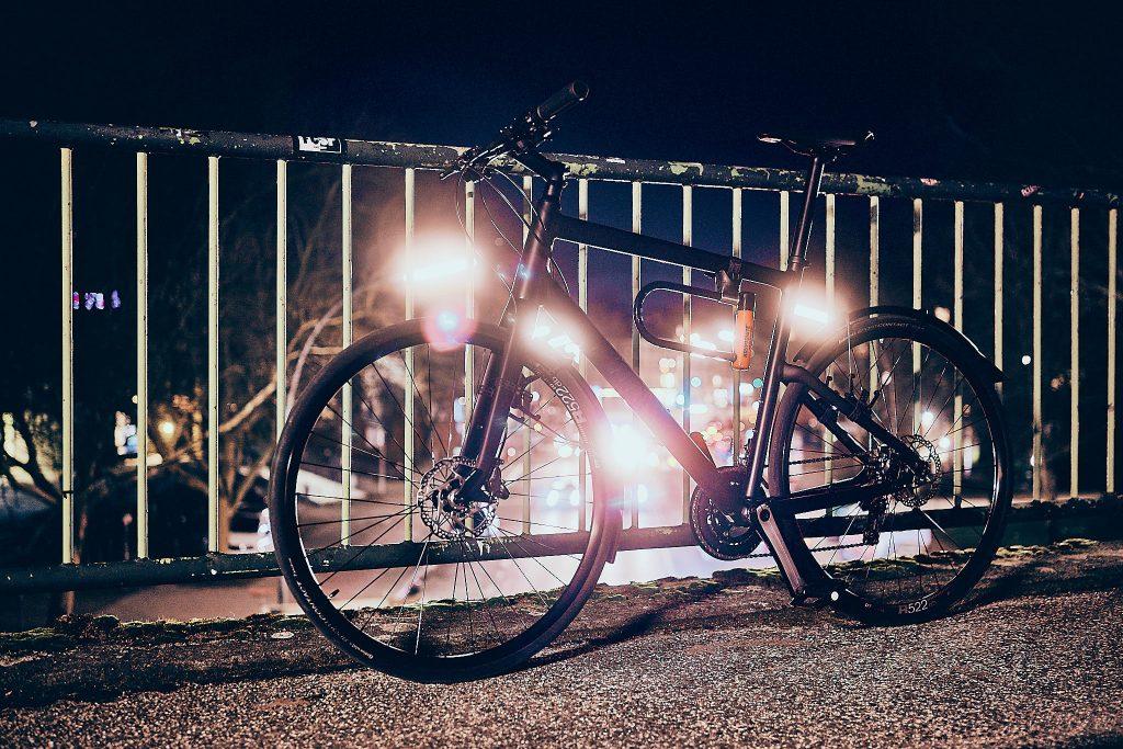 Fahrrad nachts