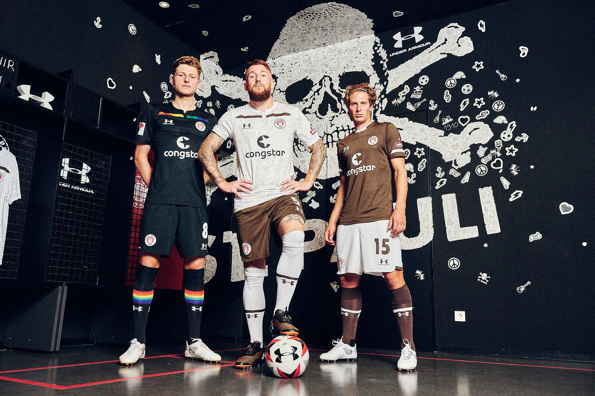 neue Trikots FC St. Pauli 2019/20