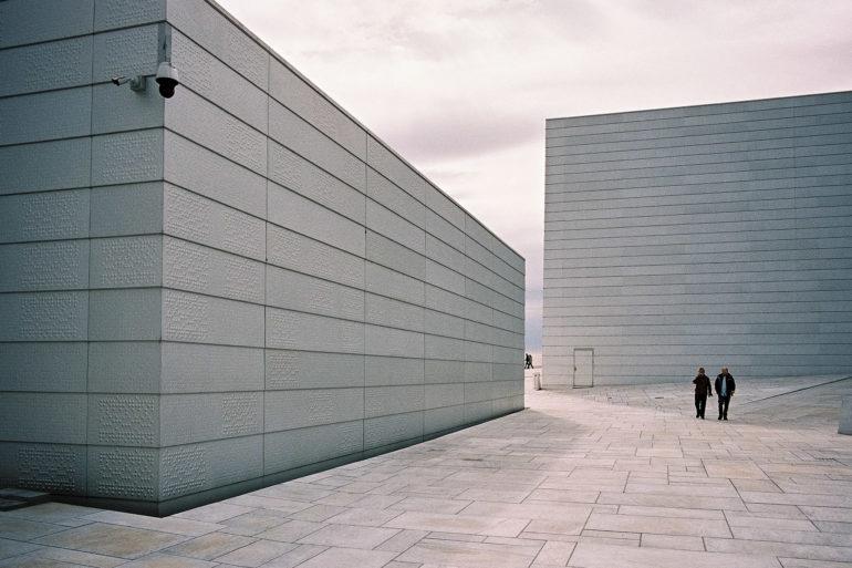 Auf der Oper in Oslo