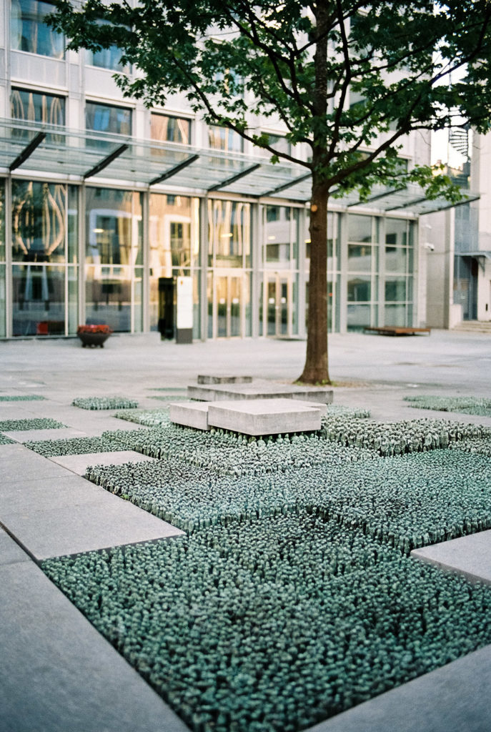 Grass Roots Square - Kunst in Oslo