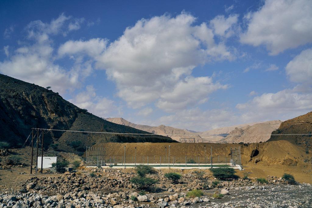 Fussballfelder im Oman