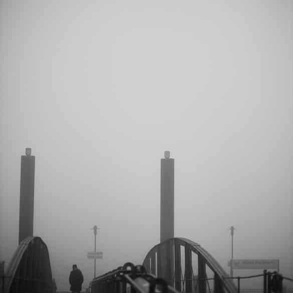 Neujahrsspaziergang im Nebel