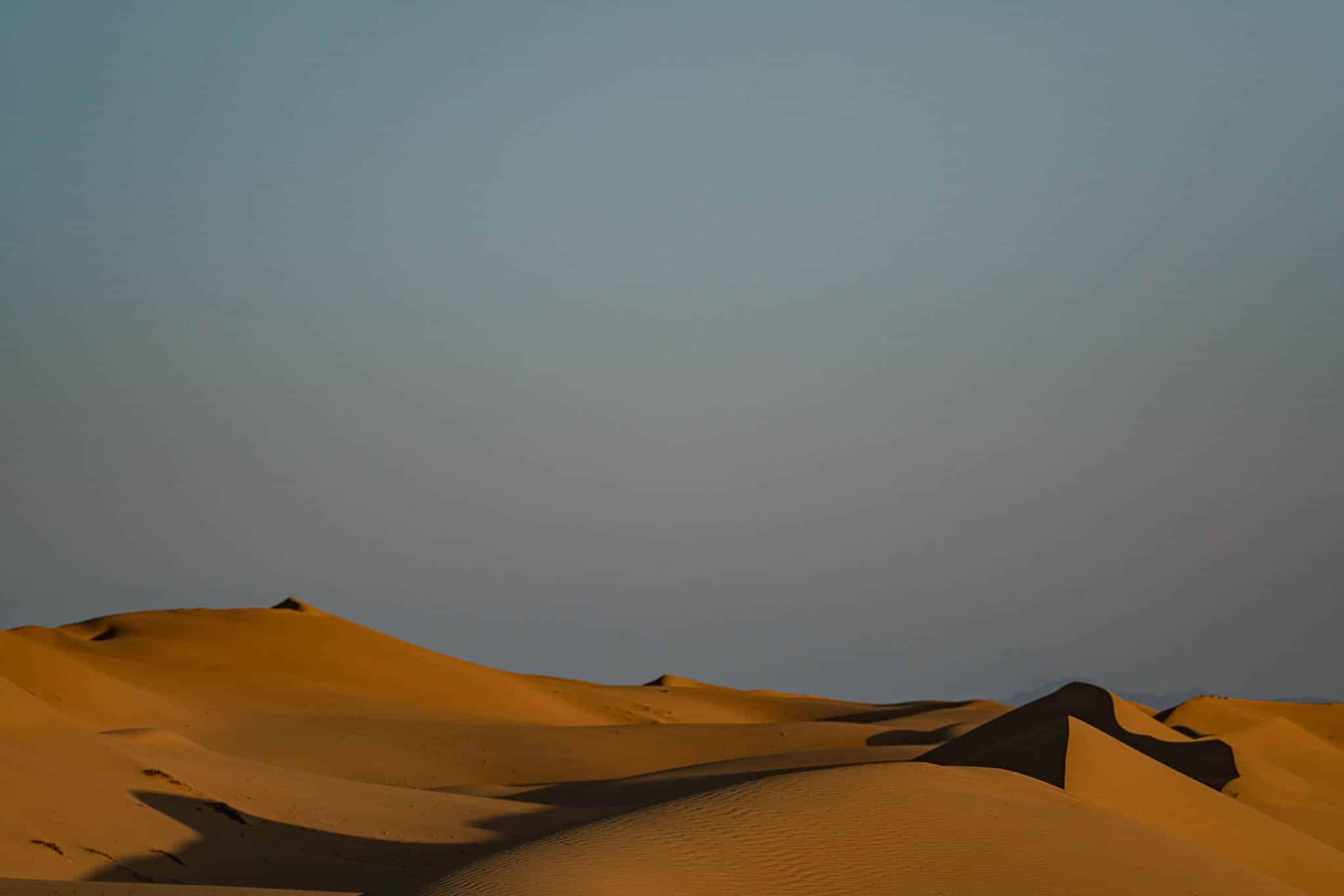 Dünenlandschaft von Wahiba Sands